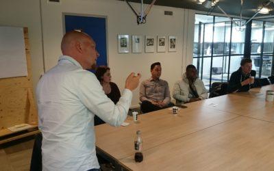 Collablab geeft presentatie aan de gemeente Amsterdam